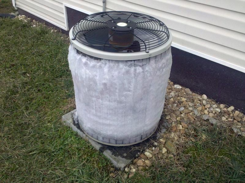 air conditioner freezing up