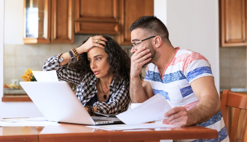 Couple stressing over high utility bills because their furnace wouldn't stop running.